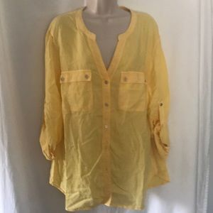 SOHO Women's Blouse Sz XL